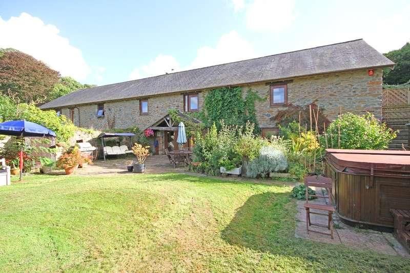 5 Bedrooms Barn Conversion Character Property for sale in Oak Barn, Dorsley Barton, Harberton, Totnes