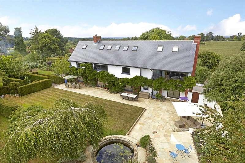5 Bedrooms Detached House for sale in Highfield Lane, Thursley, Godalming, Surrey, GU8