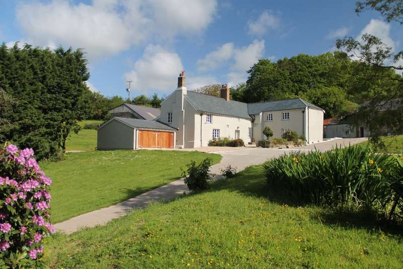 5 Bedrooms Detached House for sale in Lower Yanston Farm, near Kingsbridge