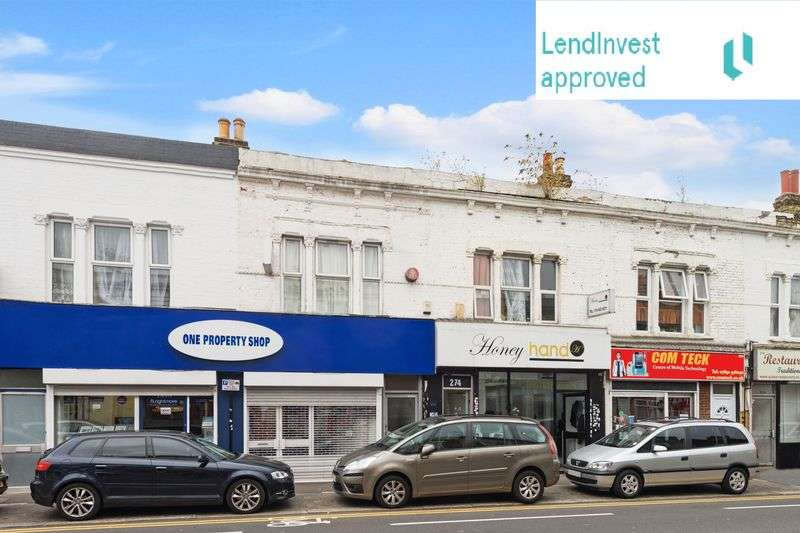 2 Bedrooms Flat for sale in 276B High Road, Leytonstone, London, E11 3HS