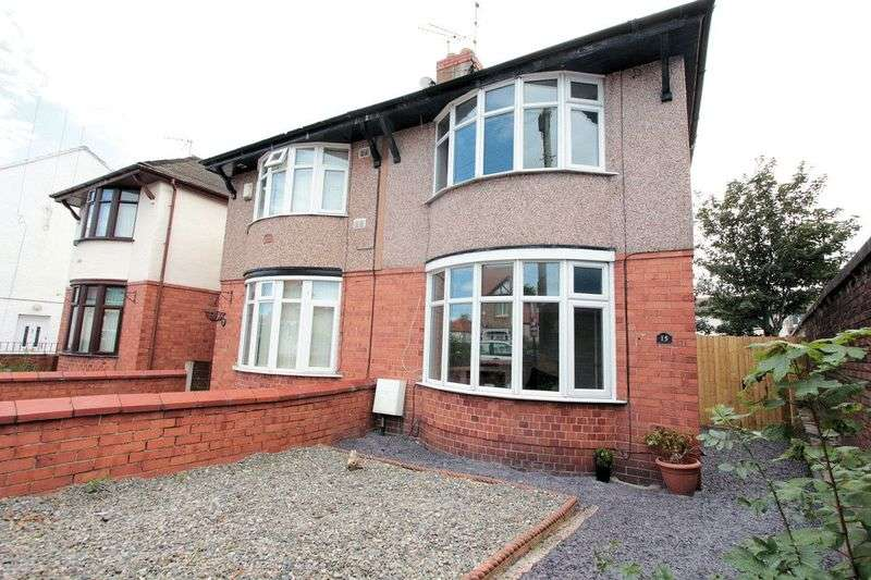 2 Bedrooms Semi Detached House for sale in Grange Road, Rhyl
