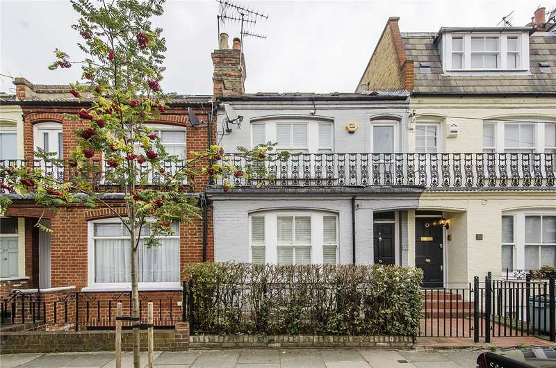 4 Bedrooms Terraced House for sale in Hazlebury Road, London, SW6