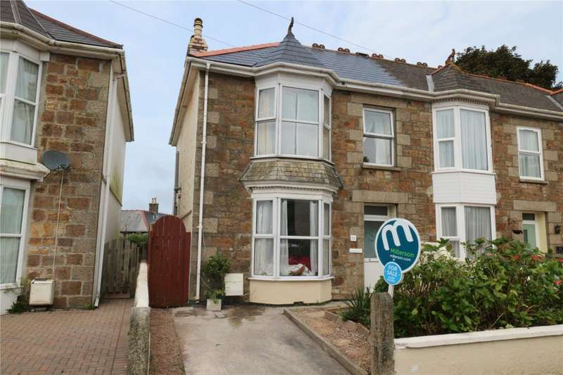3 Bedrooms Semi Detached House for sale in Dolcoath Road, Camborne, Cornwall