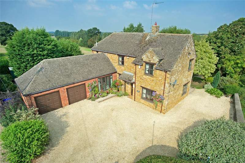 3 Bedrooms Detached House for sale in Clifton, Oxfordshire, OX15