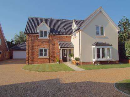 5 Bedrooms Detached House for sale in Horsford, Norwich, Norfolk