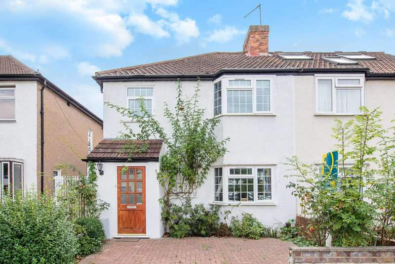 4 Bedrooms Semi Detached House for sale in Crossway, Ealing, W13