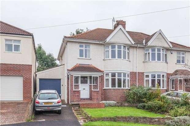 4 Bedrooms Semi Detached House for sale in Branscombe Road, Bristol, BS9 1SW