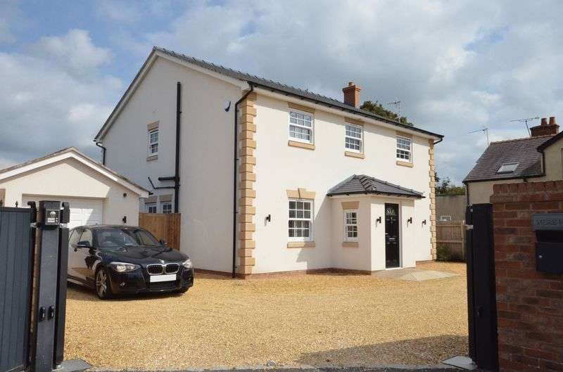 4 Bedrooms Detached House for sale in Tarporley Road, Duddon, Tarporley