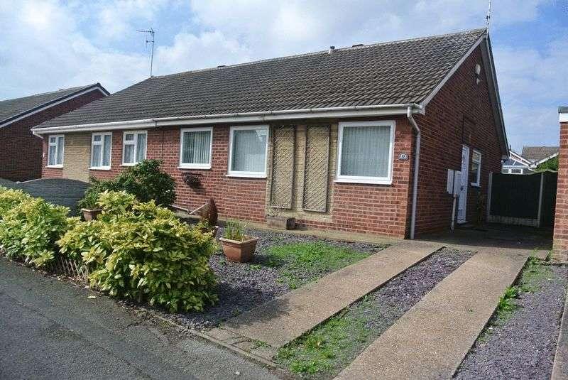 3 Bedrooms Semi Detached Bungalow for sale in Holmwood Road, Rainworth