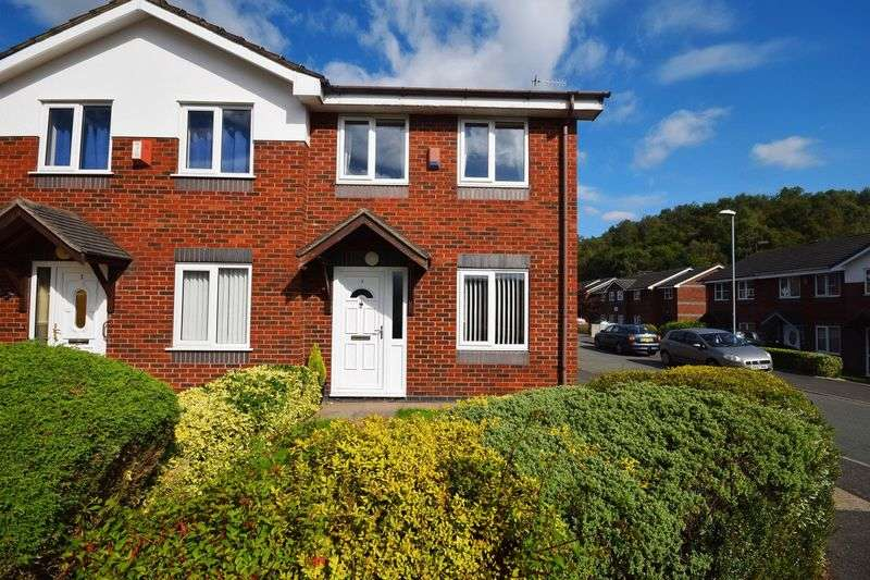 2 Bedrooms Semi Detached House for sale in Hazelwood Close, Sneyd Green