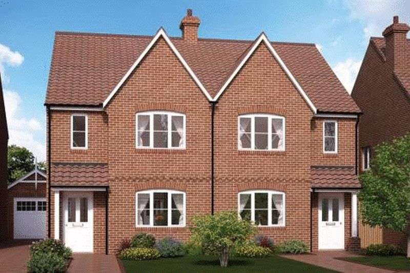 3 Bedrooms Semi Detached House for sale in Plot 51, The Oakham, Beacon Lane, Grantham
