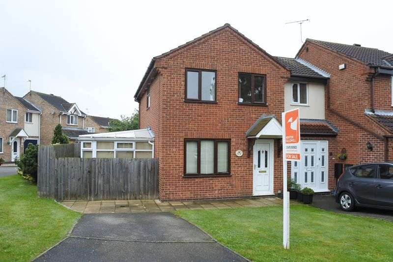 3 Bedrooms Semi Detached House for sale in Lindrick Close, Grantham