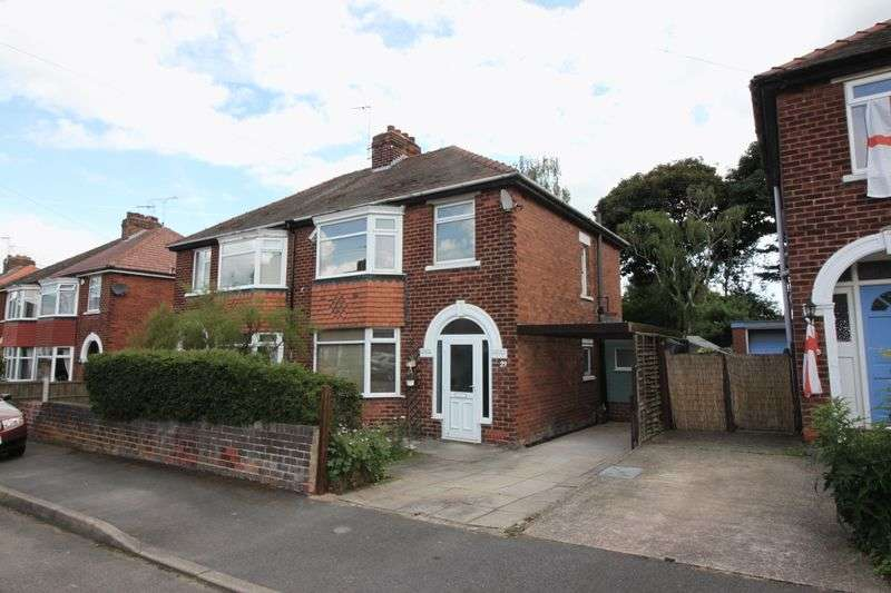 3 Bedrooms Semi Detached House for sale in Harewood Avenue, Retford