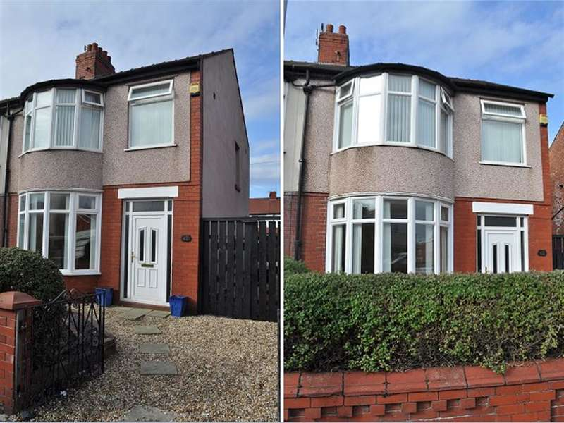 3 Bedrooms Semi Detached House for sale in Lyndhurst Avenue, South Shore, Blackpool, FY4 3AX