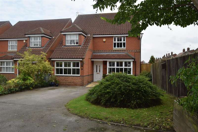 4 Bedrooms Detached House for sale in Edward Jermyn Drive, Newark