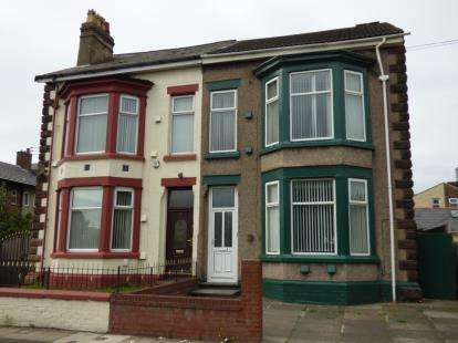 5 Bedrooms Semi Detached House for sale in Gordon Road, Liverpool, Merseyside, L21