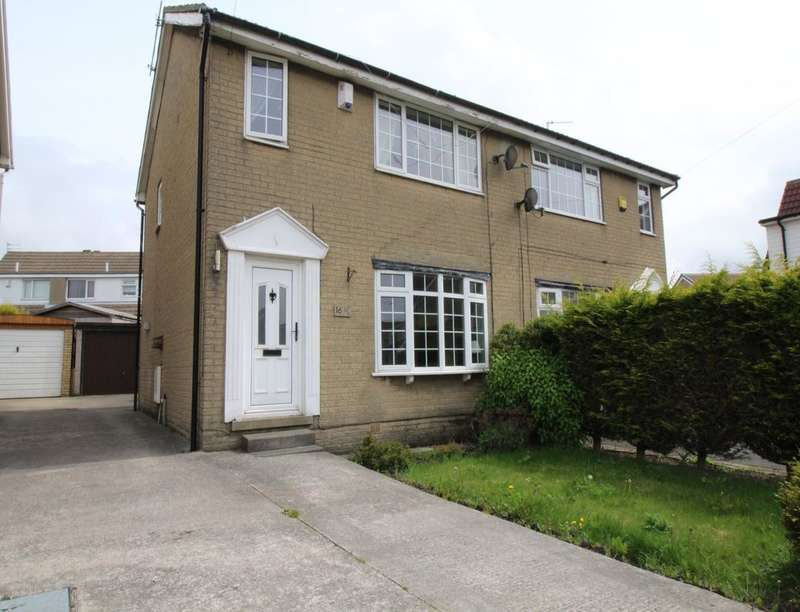 3 Bedrooms Semi Detached House for sale in Folly Hall Close, Wibsey, Bradford, BD6