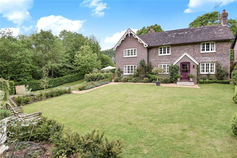 5 Bedrooms Detached House for sale in Cinder Hill, North Chailey