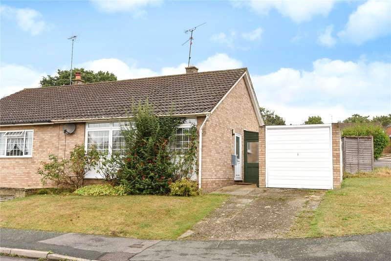 2 Bedrooms Semi Detached Bungalow for sale in Forest Hills, Camberley, Surrey, GU15