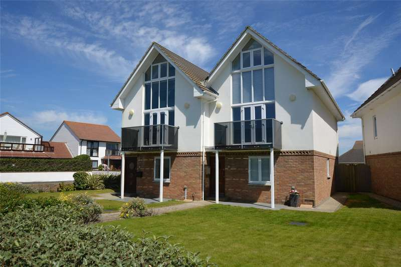 3 Bedrooms Semi Detached House for sale in Sea Road, Milford on Sea, Lymington, Hampshire, SO41