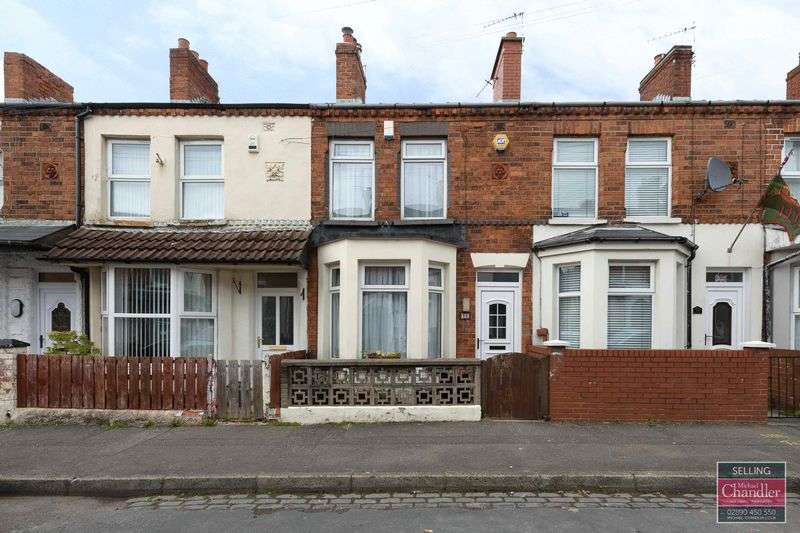 2 Bedrooms Terraced House for sale in 96 Ogilvie Street, Belfast, BT6 8NH