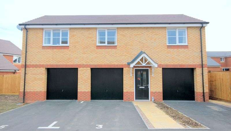 2 Bedrooms Flat for sale in Jefferson Walk, Stafford