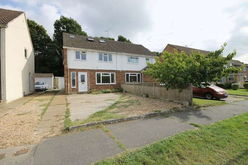 4 Bedrooms Semi Detached House for sale in Chanctonbury Road, Burgess Hill, West Sussex