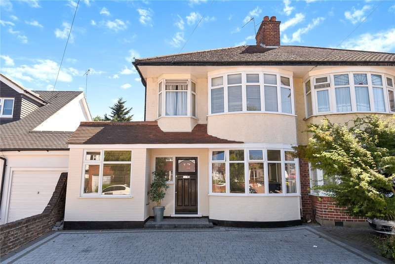 4 Bedrooms Semi Detached House for sale in Eversley Crescent, Ruislip, Middlesex, HA4
