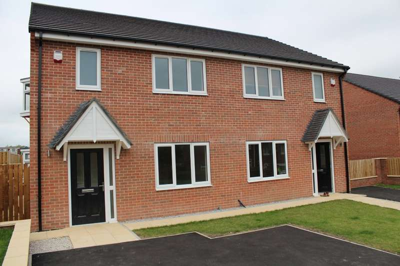 3 Bedrooms Semi Detached House for sale in Wheatley Croft , Plot Three