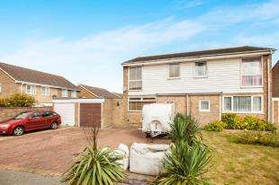 3 Bedrooms Semi Detached House for sale in Cranleigh Drive, Whitfield, Dover, Kent