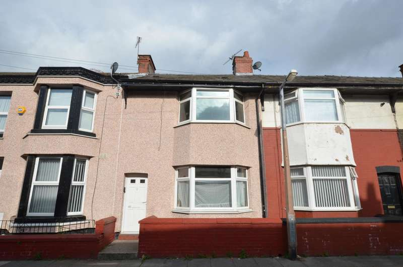 2 Bedrooms Terraced House for sale in Spenser Street, Bootle, Merseyside, L20