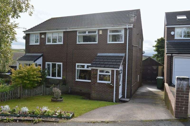 3 Bedrooms Semi Detached House for sale in Daneswood Close, Rochdale