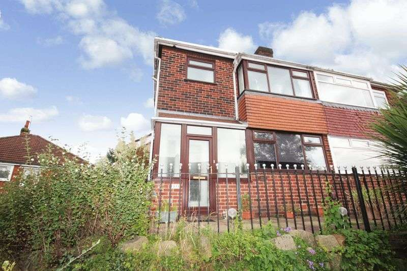 3 Bedrooms Semi Detached House for sale in Grimshaw Lane, Middleton, Manchester M24 2BR