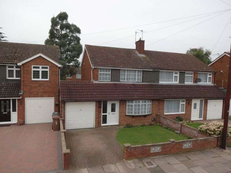 3 Bedrooms Semi Detached House for sale in Ranock Close.