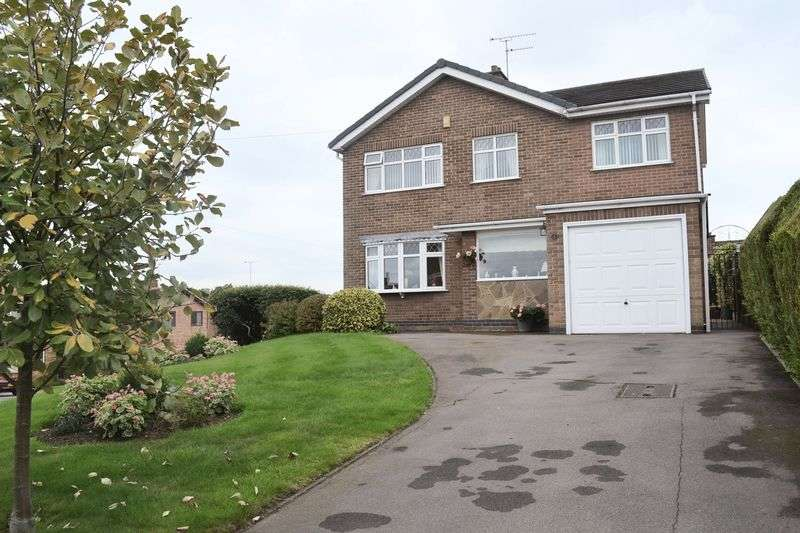 4 Bedrooms Detached House for sale in Hereford Crescent, Swadlincote