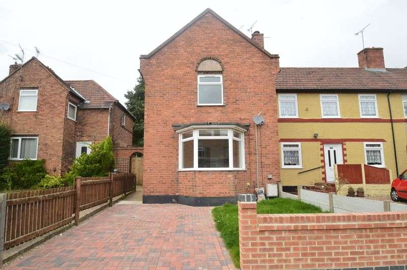 2 Bedrooms Semi Detached House for sale in Grange Road, Blidworth