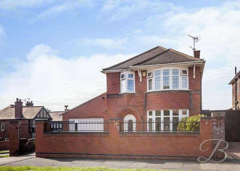 3 Bedrooms Detached House for sale in Beech Hill Crescent, Mansfield