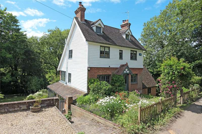 4 Bedrooms Detached House for sale in Tidebrook, Wadhurst, East Sussex, TN5