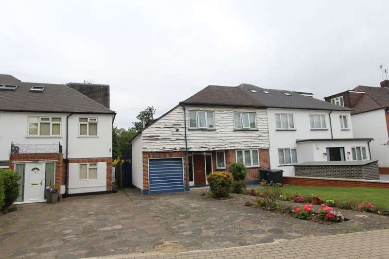 4 Bedrooms Semi Detached House for sale in Golders Green, NW11