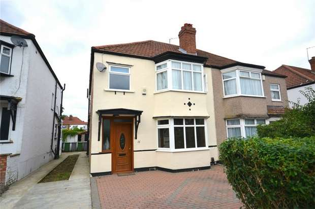 3 Bedrooms Semi Detached House for sale in Blockley Road, North Wembley, Middlesex