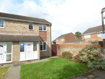 2 Bedrooms End Of Terrace House for sale in Langport Close, Freshbrook, Swindon, Wiltshire