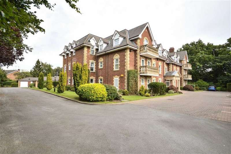 2 Bedrooms Flat for sale in Chelworth Manor MANOR ROAD, Bramhall, Stockport, Cheshire, SK7