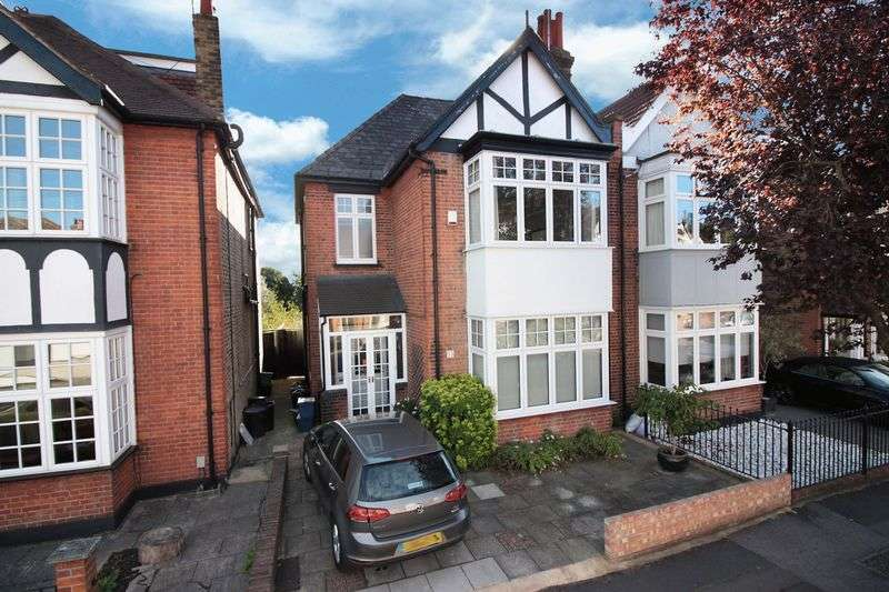 4 Bedrooms Semi Detached House for sale in Eastwood Road, South Woodford