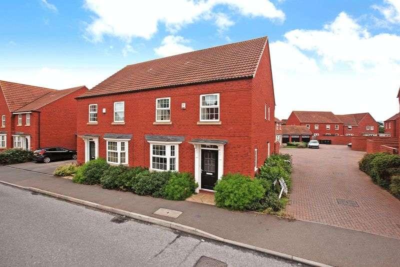 4 Bedrooms Semi Detached House for sale in Sorrel Drive, Wilstock Village, Bridgwater