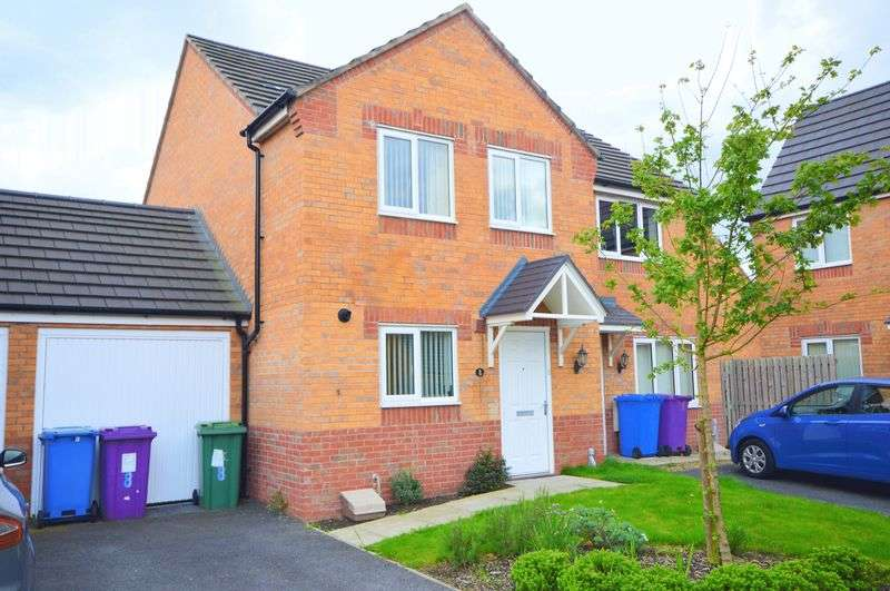 3 Bedrooms Semi Detached House for sale in Palomar Close, Liverpool