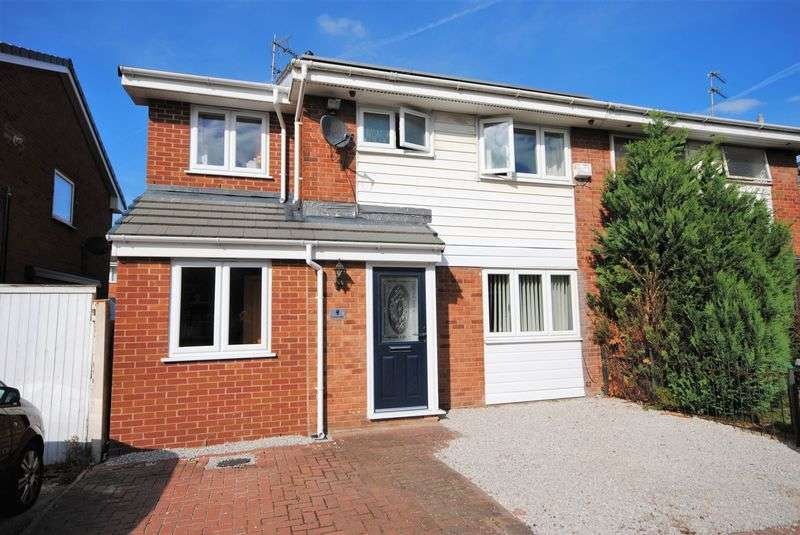 4 Bedrooms Semi Detached House for sale in Cambrian Close, Moreton