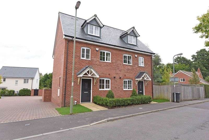 3 Bedrooms Semi Detached House for sale in Ash Road, Bishops Green