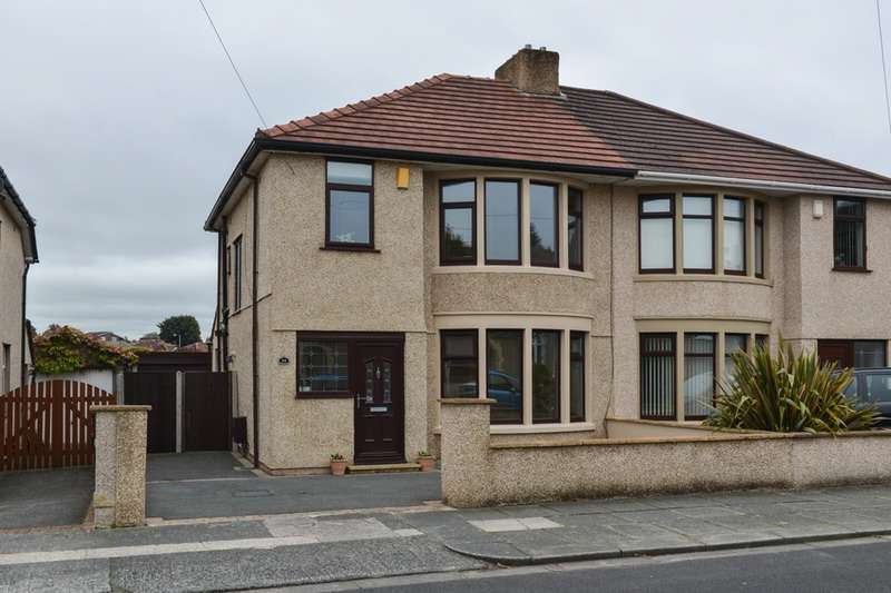3 Bedrooms Semi Detached House for sale in Michaelson avenue, Morecambe, Lancashire, LA4
