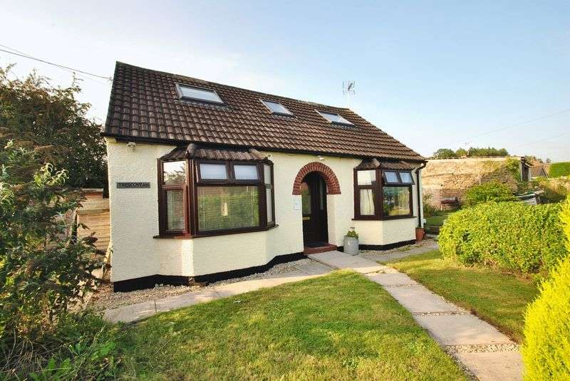 3 Bedrooms Detached House for sale in Whitecroft, Lydney - 01594 835751