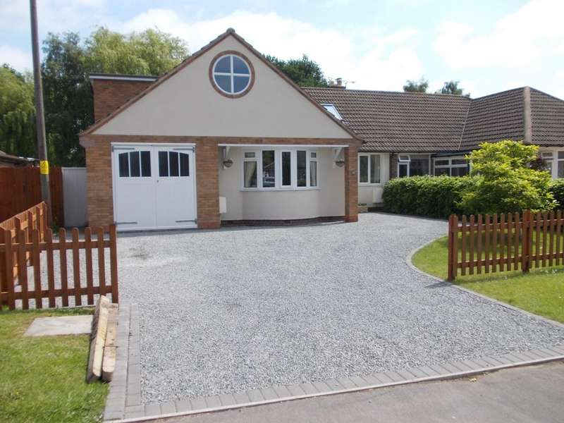 4 Bedrooms Semi Detached Bungalow for sale in Station Road, Whitacre Heath